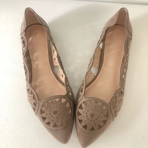Kelly and katie perforated flats size 7.5